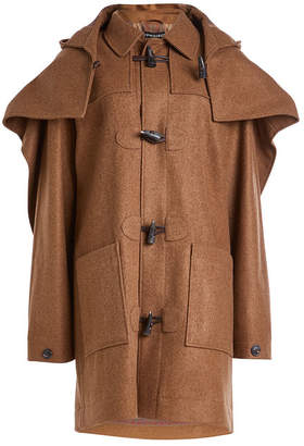 Y/Project Layered Wool Duffle Coat