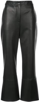 Oscar de la Renta bootleg trousers