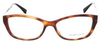 Versace Square Logo Eyeglasses