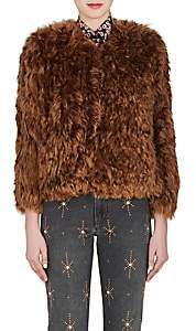 Isabel Marant Women's Agga Fur Jacket-Brown