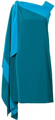 Gianluca Capannolo draped side dress