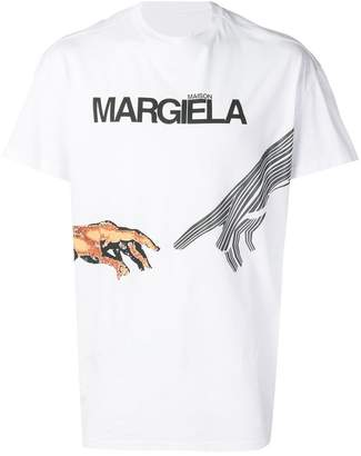 Maison Margiela hands print T-shirt