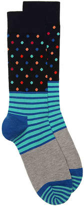 Happy Socks Stripe Crew Socks - Men's