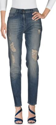 Elisabetta Franchi Denim pants - Item 42589452SQ