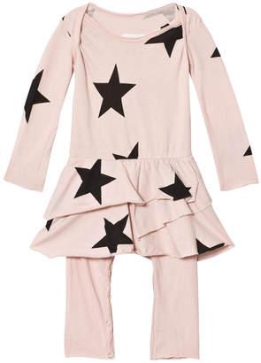 Nununu Star Onesie Skirt