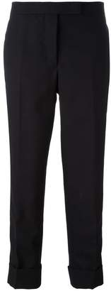 Thom Browne Classic Backstrap Trouser With Tuxedo Stripe In 2ply Fresco