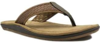 George Men's Weave Flip Flop