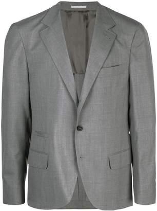 V-neck suit jacket