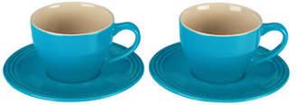 Le Creuset Set of 2 200ml Stoneware Cappuccino Cups