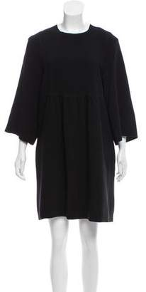 Isabel Marant Three-Quarter Sleeve Knee-Length Dress