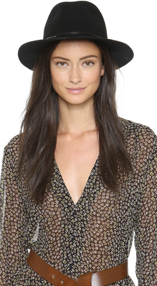 Hat Attack Wool Felt Avery Fedora Hat $100 thestylecure.com
