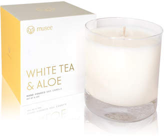 Alöe Musee White Tea & Hand-Poured Soy Candle, 8.8-oz.