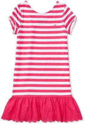 Ralph Lauren Striped Shirtdress, Toddler & Little Girls (2T-6X) $45 thestylecure.com