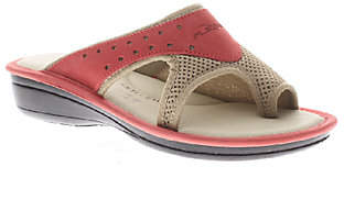 Spring Step Flexus by Pascalle Leather/Mesh Sli