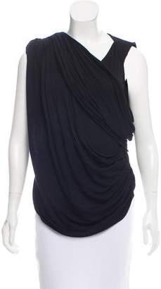 Givenchy Draped Sleeveless Top
