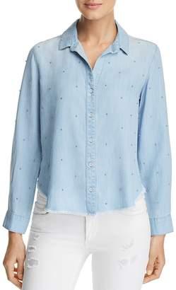 Bella Dahl Capri Beaded Chambray Shirt