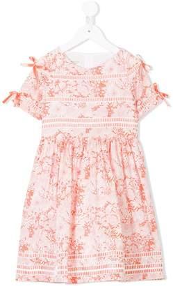 Cashmirino Floral print dress