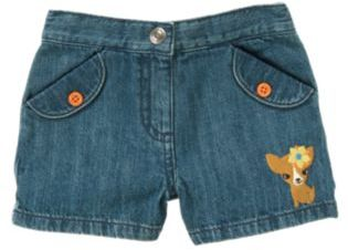Crazy 8 Puppy Denim Short