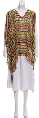 Mara Hoffman Hooded Printed Cover-Up