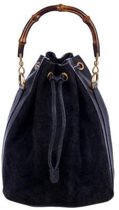Gucci Vintage Drawstring Bucket Bag