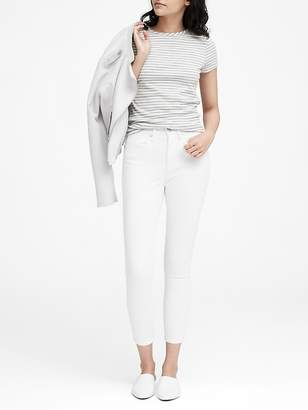 Banana Republic High-Rise Skinny Cropped Jean