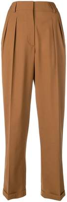 Mulberry pleated trousers