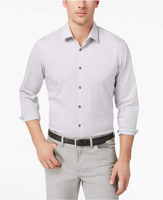 Alfani Men Stretch Modern Stripe Shirt