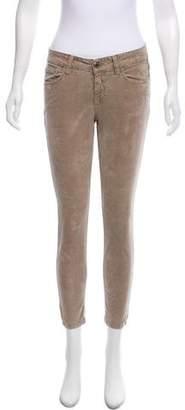 Closed Low-Rise Corduroy Pants