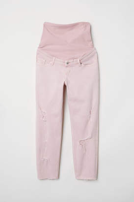 H&M MAMA Boyfriend Jeans - Orange