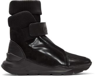 Balmain Black Sock Sneakers