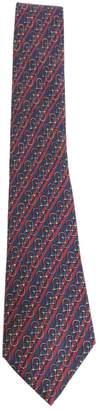 Hermes Vintage Navy Silk Ties
