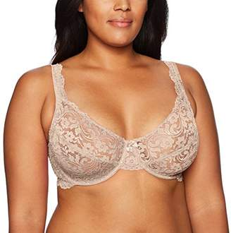 Smart & Sexy Smart+Sexy Women's Plus Size Curvy Signature Lace Unlined Underwire Bra with Added Support