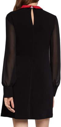 BCBGeneration Two-Fer Long-Sleeve Shirt Dress