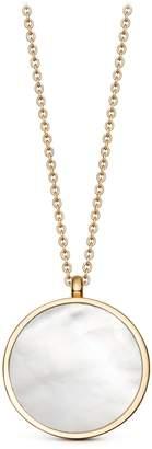 Astley Clarke Mother of Pearl Slice Stilla Locket Necklace