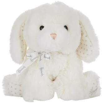 Harrods Soft Puppy Rattle