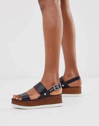 Wooden Sole Sandals Shopstyle Uk