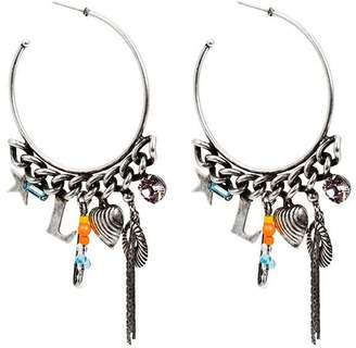 Dannijo Ajani hoop earrings