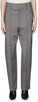 Isabel Marant Women's Hami Herringbone Wool Trousers