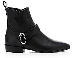 3.1 Phillip Lim Women's Alix Leather Biker Boots