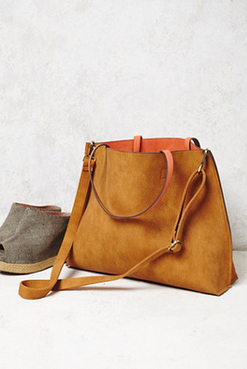 Free People Womens SLOUCHY VEGAN TOTE $68 thestylecure.com