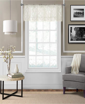 "Montego Elrene 52"" x 15"" Sheer Burnout Window Valance"