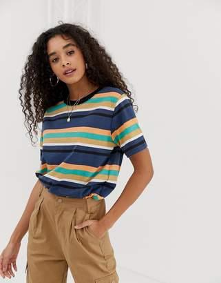 Daisy Street relaxed t-shirt in stripe