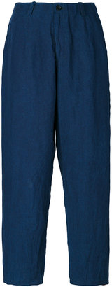 Blue Blue Japan denim cropped trousers $295.49 thestylecure.com