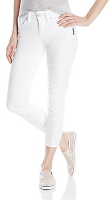 Silver Jeans Women's Suki Denim Capri $35.50 thestylecure.com