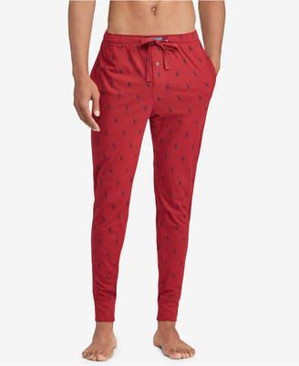 Polo Ralph Lauren Men's Pony-Print Cotton Jogger Pants