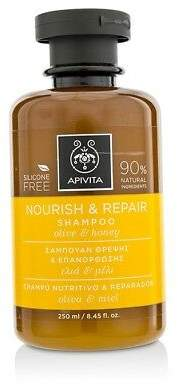 Apivita NEW Nourish & Repair Shampoo with Olive & Honey (For Dry-Damaged Hair)