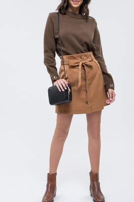 Blu Pepper Feelin Golden Skirt