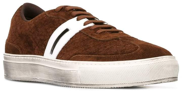 Neil Barrett classic lace-up sneakers