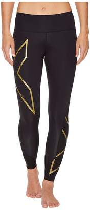 2XU MCS Mid-Rise Bonded Compression Tights Women's Workout