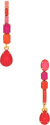 Elizabeth Cole Tiered Dangle Earrings